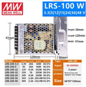 LRS-100-24 Meanwell SMPS