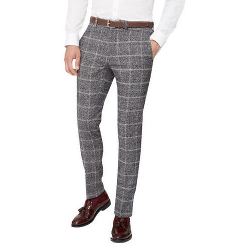 c04508f39e8e6c Cotton Mens Stylish Formal Check Pant, Rs 240 /piece, L N Polo ...