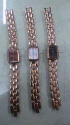 Times Metal Fashion Women's Watches, Rose Gold