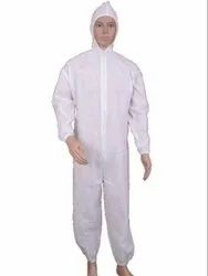 Disposable Non-Woven Hooded Coverall