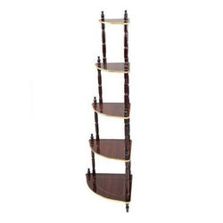 MS Brown Folding Wooden Corner, For Home, 05
