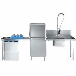 Stainless Steel Dishwashing Unit