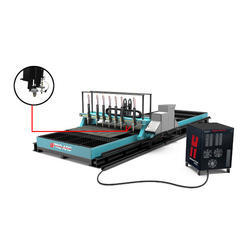 Multi Torch Metal Strip Cutting Machine