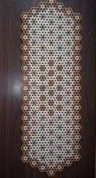 Bhavya Creations White Moti Table runner, For Casual, Size: 12*36