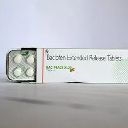 Baclofen 20mg Extended Release Tablets(Bac-Peace XL20)