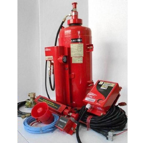 Automatic Fire Detection and Suppression System, Gas Suppression Systems,  फायर सप्रेशन सिस्टम, फायर सप्रेशन प्रणाली - AG Electronics, Nagpur | ID:  16055129333