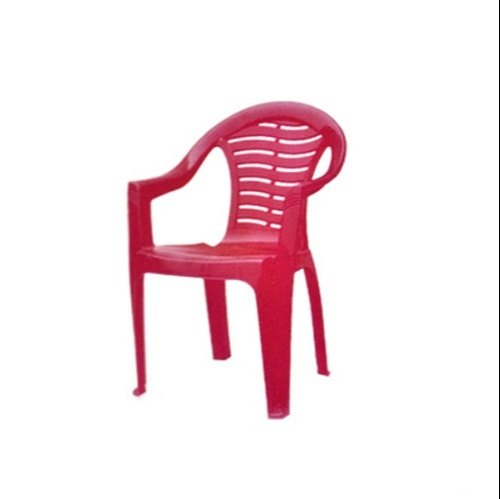 Neelkamal Red Indoor Plastic Chair