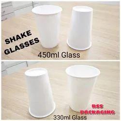 White Paper Glass 450mL