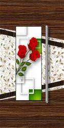 Flower Door Paper Print