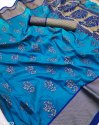 Pure Soft Silk with Weaving Jacquard Saree