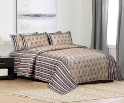 Printed Cotton Bedsheets Double Bed