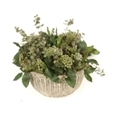 Plant Wicker Basket