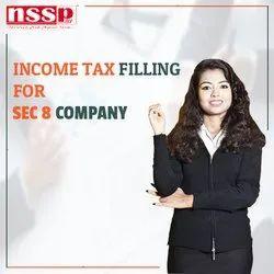 Income Tax Filling for Sec 8 Company