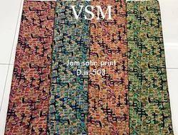 Jam Satin Prints
