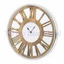 Round shape roman dial Wooden Wall Clock