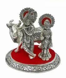 White Metal Radha Kishan