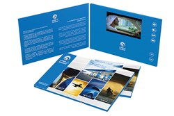 5 Inch Video Brochure and Video Visiting Card