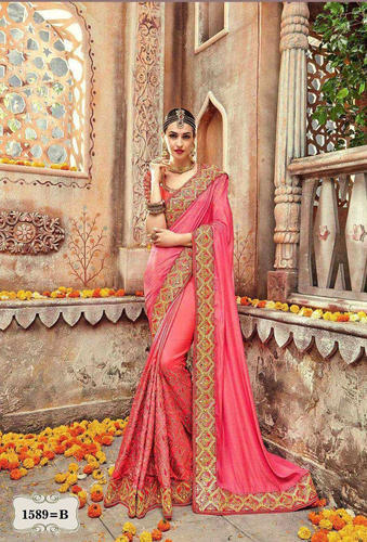 c11c4e54fa Casual Wear And Formal Wear Party Wear Sari - Wedding Sarees Online ...