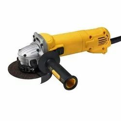 Yellow Electric Angle Grinder