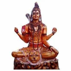 Fiber Shiv Ji Statue
