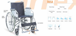 Rosa Basic Steel Wheelchair