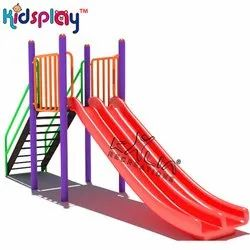 Outdoor Playground FRP Double Slide KP-KR-611