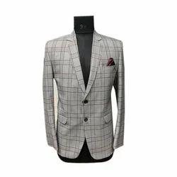 Cotton Wedding Check Suit