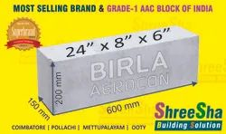 8''Birla Aerocon AAC Block