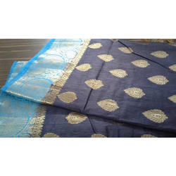 Ladies Party Wear Silk Saree, 6.3 M (with Blouse Piece)