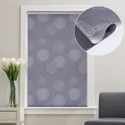 41 x 84 inch Mineral Grey Windows and Doors Printed Roller Blinds