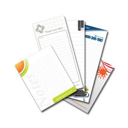 One Week Paper Notepad Printing Service, Location: Chennai, Dimension / Size: Custom