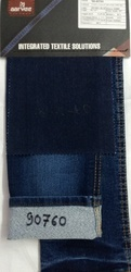 Excess Blue Blended Knitted Dobby Jeans