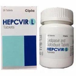 Hepcivir L Ledipasvir and Sofosbuvir Tablet