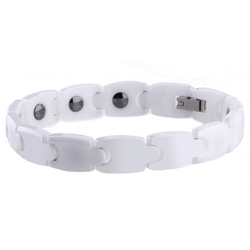 White Tungsten Bio Energy Bracelets