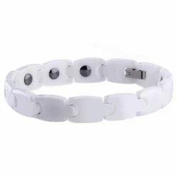 White Tungsten Bio Energy Bracelets