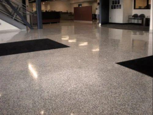 Cementitious Terrazzo Flooring