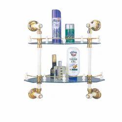 Onida and Ibibo Glass Corner Shelf