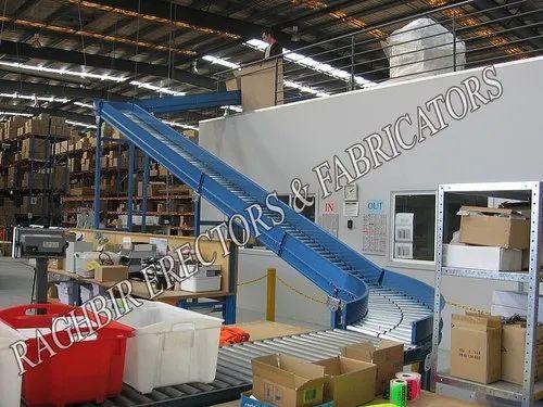 Manual Roller Conveyor Table