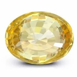 Ceylon Yellow Sapphire Certified By GII