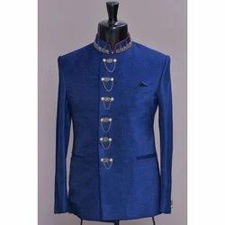 Royal Blue Trendy Jodhpuri Coat
