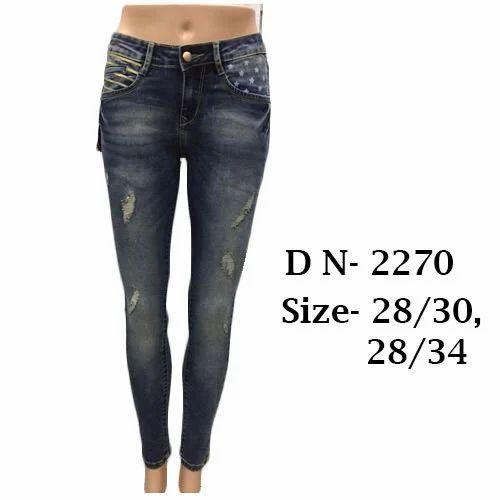 24ee8f84f6f Ladies Slim Fit Jeans
