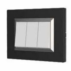Acacia Series Black Switch Plate
