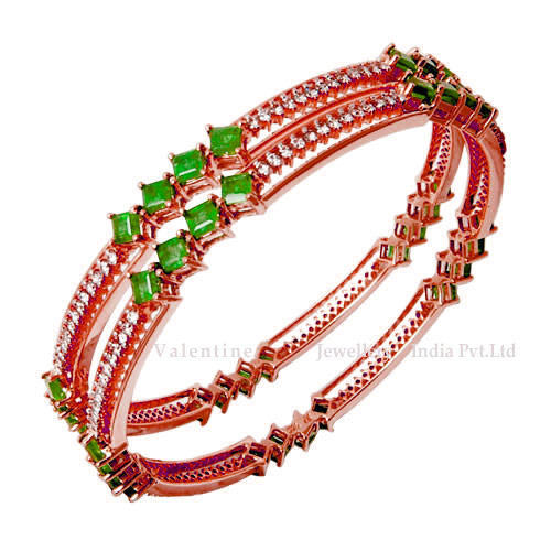 emerald bangles designs with gold bangle jewels design stones india grams south