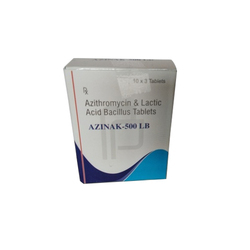 Azithromycin And Lactic Acid Bacillus Tablets