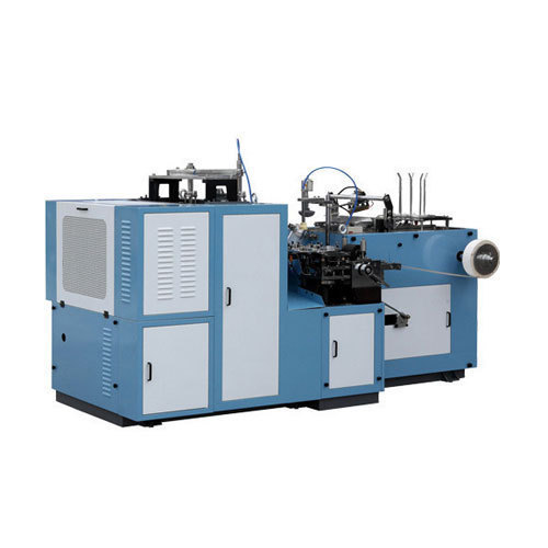 Disposable Plastic Cup Making Machine, Capacity: 1000 - 1500 Cups/ Hr