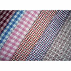 Uniform Checks Fabric