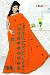 STYLISH EMBROIDERY SAREES
