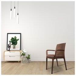 Alpha Cushion Chair with Arm, Warranty: 1 Year