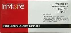 Brother DR 450 (DR 450) Compatible Black Toner Cartridge for Brother Printers