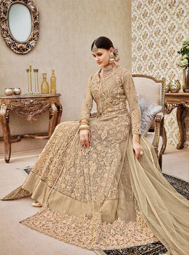 ecfad79476 Chiffon Embroidery Semi Stitched Suits For Eid, Rs 3195 /piece | ID ...